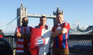 The Red Dragons London Board: Rick, Thorsten and Greg