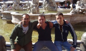 Three Dragons at the Piazza Navona