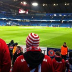 Group Phase Match v Manchester City, Etihad Stadium, Manchester November 2014