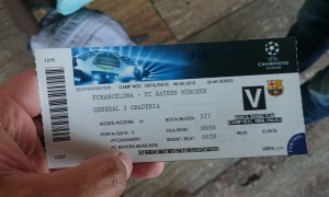 The Match Ticket!